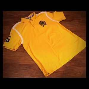 Yellow Tommy Hilfiger Polo XL